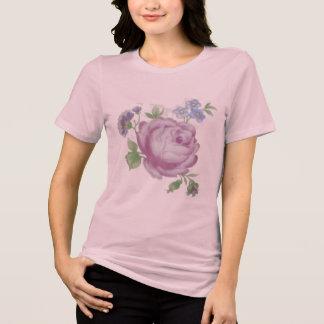 Vintage Purple Rose Tattoo T-Shirt