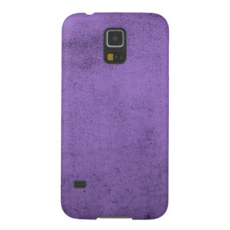 Vintage Purple Velvet Fabric Texture Cases For Galaxy S5