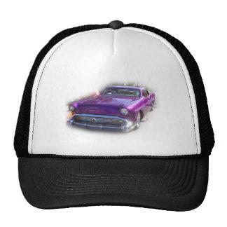 Vintage púrpura del Car Show del coche de carreras Gorra