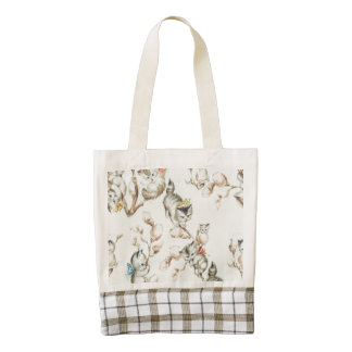 Vintage Pussy Willow Tote