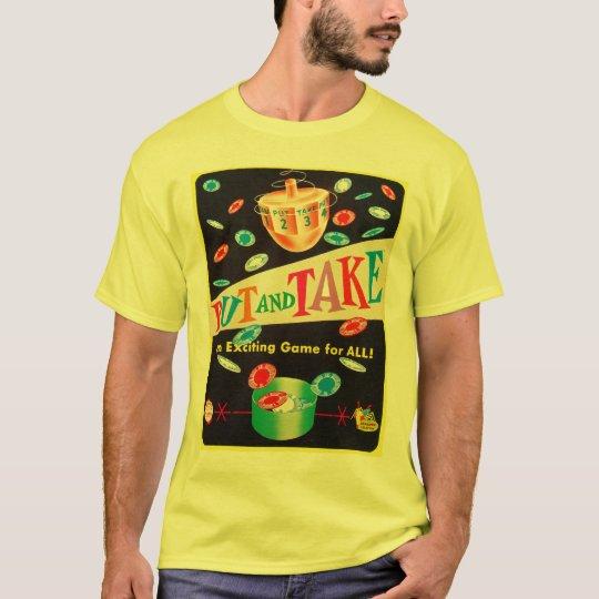 Vintage Put & Take Game Schaper Cootie Kitsch T-Shirt