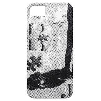 VINTAGE PUZZLE iPhone SE/5/5s CASE