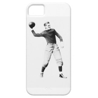 Vintage Quarterback100 Classic iPhone SE/5/5s Case