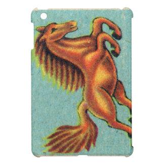 Vintage que salta el ejemplo del caballo