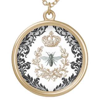 Vintage Queen Bee...charm necklace