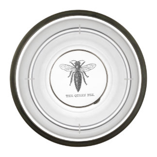 Vintage Queen Bee Illustration Bowl