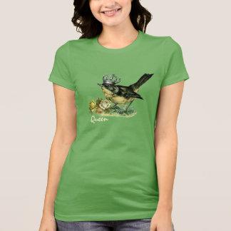 Vintage Queen Bird. Valentine's Day Gift T-Shirts