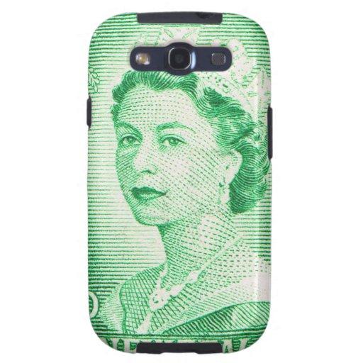 Vintage Queen Elizabeth Australia Australian Samsung Galaxy S3 Case