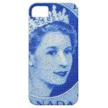 Vintage Queen Elizabeth Canada iPhone 5 Covers