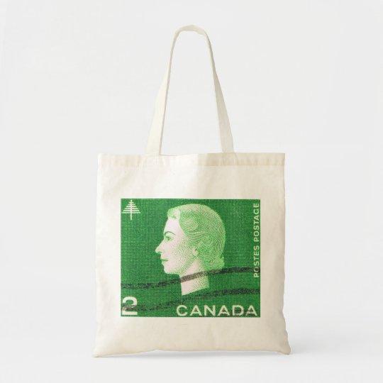 Vintage Queen Elizabeth Canada Tote Bag