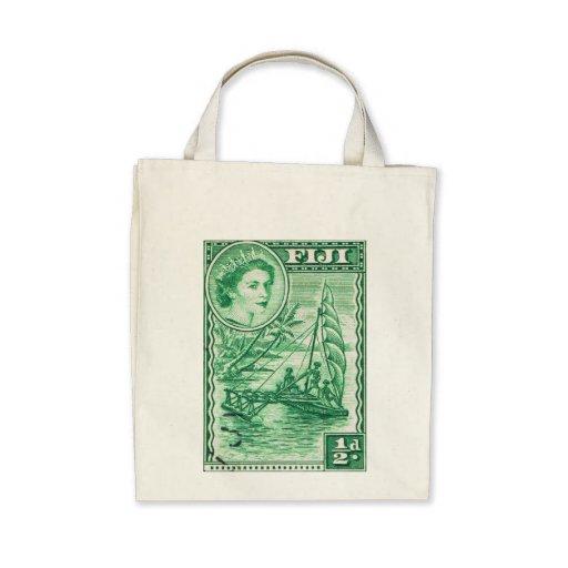 Vintage Queen Elizabeth Fiji Bag