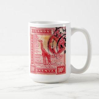 Vintage Queen Elizabeth II Kenya Coffee Mug