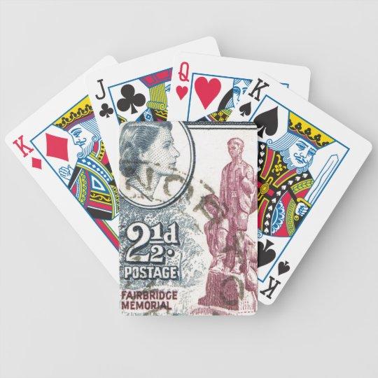 Vintage Queen Elizabeth II Rhodesia Bicycle Playing Cards
