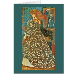 Vintage Queen Guinevere Card