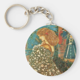 Vintage Queen Guinevere Keychain
