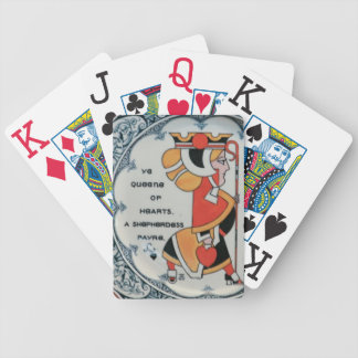 Vintage Queen of Hearts A Sheperdess Fair Lucky Bicycle Playing Cards