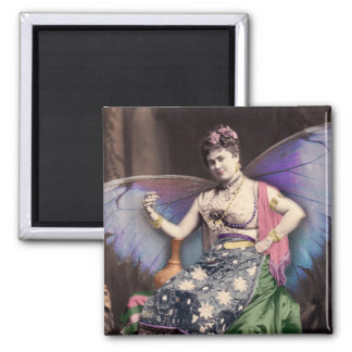 Vintage Queen of the Faeries Image Magnet