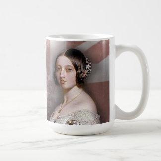 Vintage Queen Victoria Classic White Coffee Mug