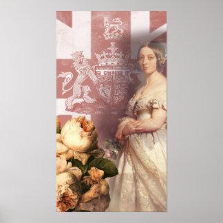 Vintage Queen Victoria Posters