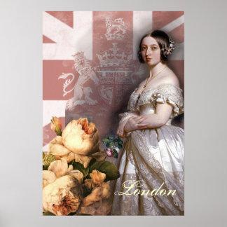 Vintage Queen Victoria Poster