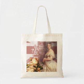 Vintage Queen Victoria Tote Bag