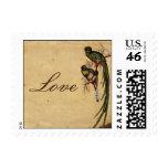 Vintage Quetzal Bird Elegant Love Postage