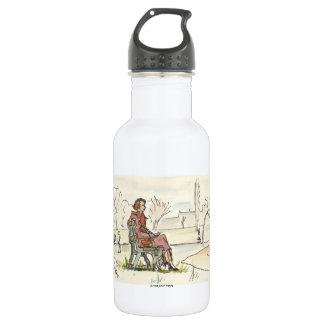 Vintage Quiet Moment 18oz Water Bottle
