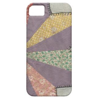 Vintage Quilt Block Pinwheel iPhone SE/5/5s Case