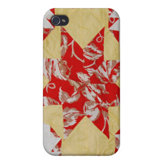 Vintage Quilt iPhone 4/4S Covers