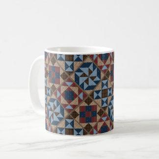 Vintage Quilt Pattern Mug