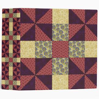 Vintage Quilting Pattern 1 - Binder