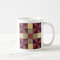 Vintage Quilting Pattern 1 - Classic Mug