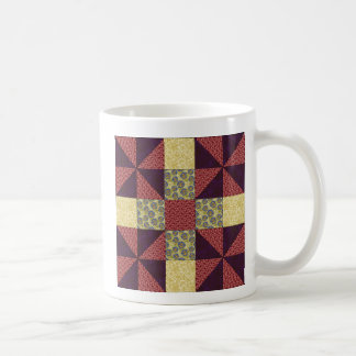 Vintage Quilting Pattern 1 - Classic Mug