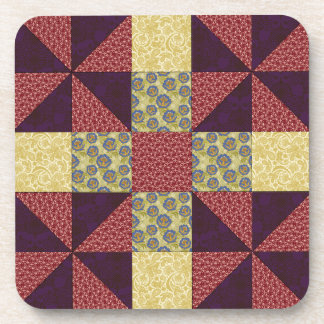 Vintage Quilting Pattern 1 - Coaster