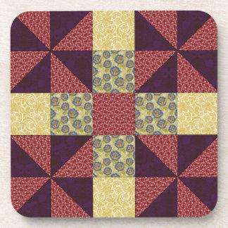 Vintage Quilting Pattern 1 - Coaster