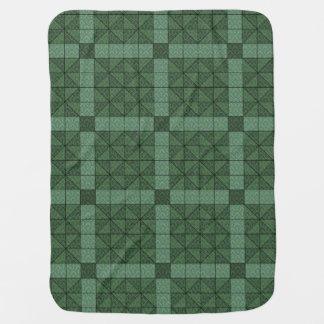 Vintage Quilting Pattern Damask 4 - Baby Blanket