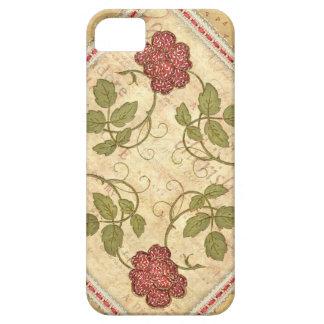 Vintage Qulted Floral iPhone Case
