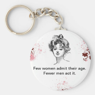 Vintage Quote Key Chain