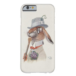 Vintage Rabbit - Anthropomorphic  Art by Thiele Barely There iPhone 6 Case