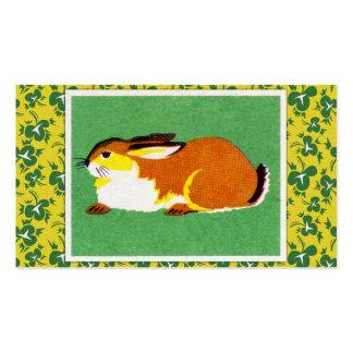Vintage Rabbit Art Business Card