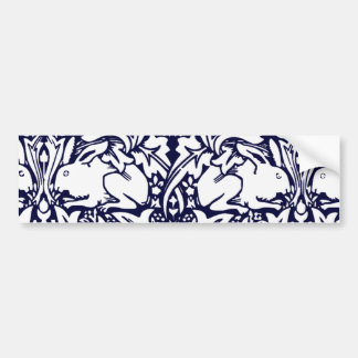 Vintage Rabbits Bumper Sticker