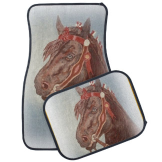 Race Horse Car Floor Mats Zazzle