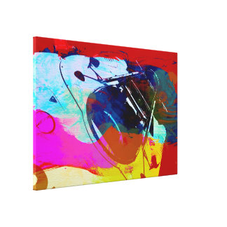 Vintage Racing Art Gallery Wrapped Canvas