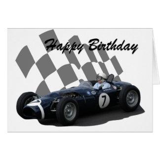 Race Car Happy Birthday Greeting Cards Zazzle