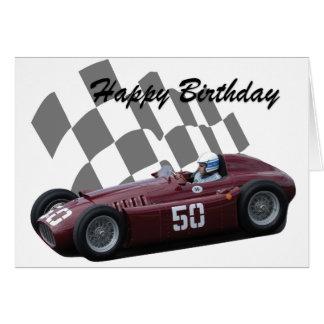 Vintage Car Happy Birthday Cards Zazzle