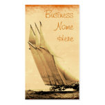 Vintage Racing Yacht Business Cards