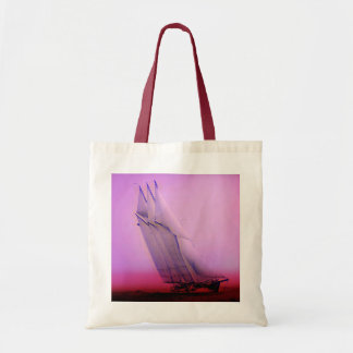 Vintage Racing Yacht Tote Bag