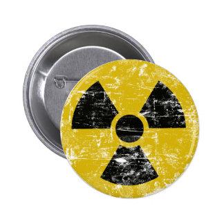 Vintage radiactivo pin