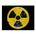 Vintage radiactivo postales
