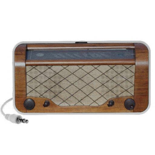 Vintage Radio 1 Portable Speakers